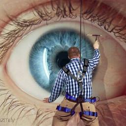 freetoedit eyeremix eye eyes cleaning