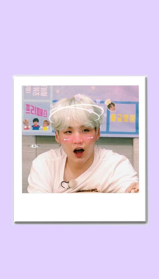 💘😽 yoongi min baby #mycrush #bts #love #edit #soft #softedit #wallpaper #nature