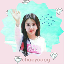 freetoedit twicechaeyong twicekpop