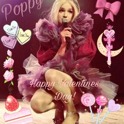 poppy thatpoppy poppycomputer valentinesday freetoedit
