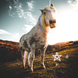 freetoedit unicorn magic