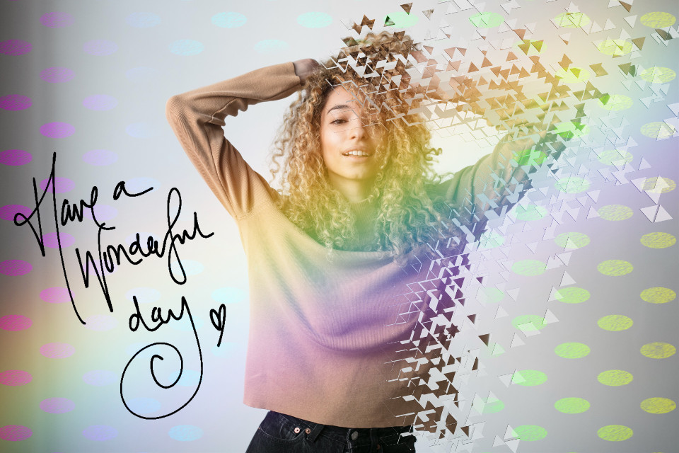 #freetoedit #remixit #rainbow #hello #greatday