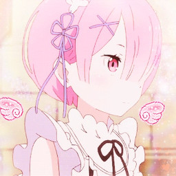 freetoedit rezeroedit rezero pastel anime