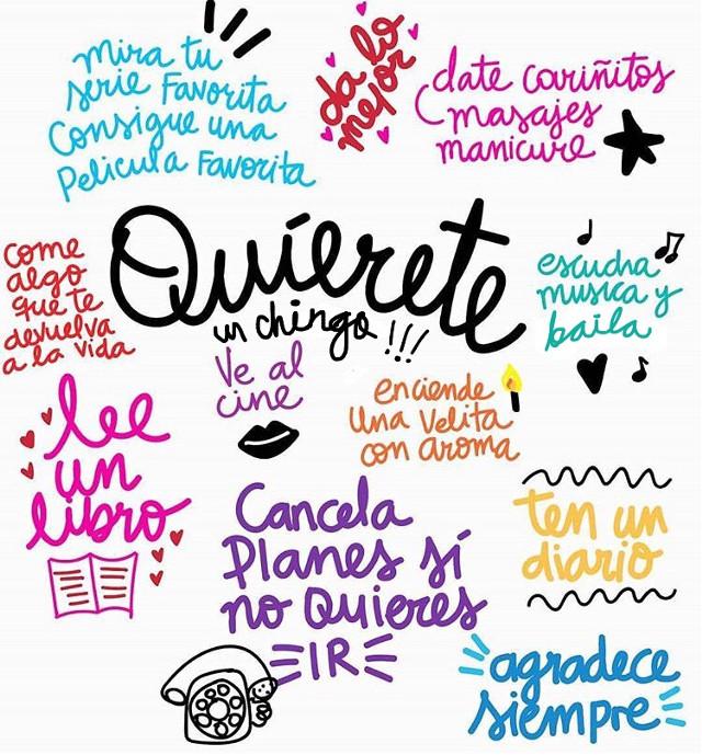 Quiérete un chingo!!! ❤️ #type #lettering #loveme