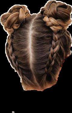 freetoedit hair bun buns braid