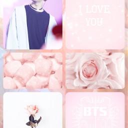 jhopebts pinkaesthetic valentinesday2018