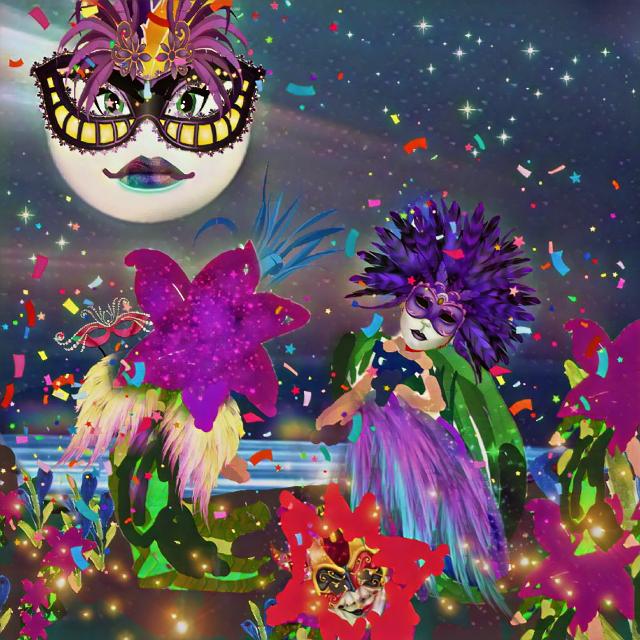 #freetoedit #mardigras #carnaval #fairies #dailysticker #carnavalwingsstickerremix #galaxybrush #holidaymagiceffect #moon  fairies are #mydrawing #ravemakeup