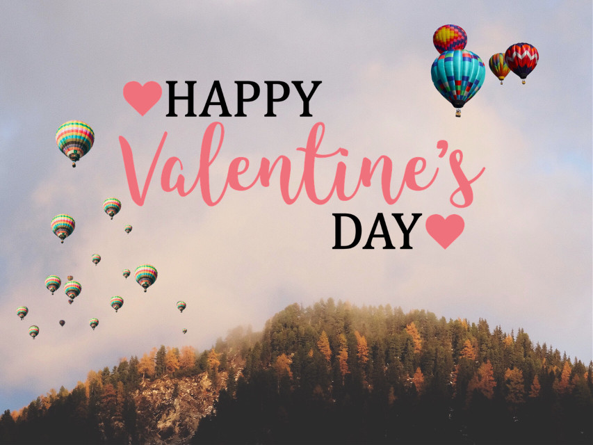 #freetoedit 👉🏼 #Happy #Valentines #Day #Balloons ❤️ @pa