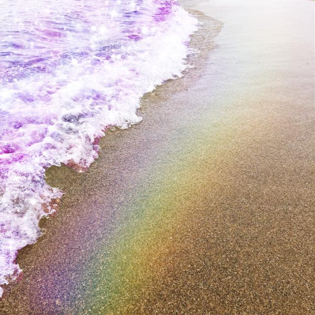 #freetoedit #beach #sea #spain #nature #universe #rainbow