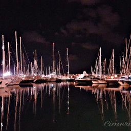 mallorca spain goodnight boats port