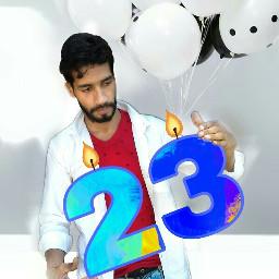 happybirthday 23years balloons freetoedit