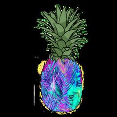 pineapple estampado piña freetoedit