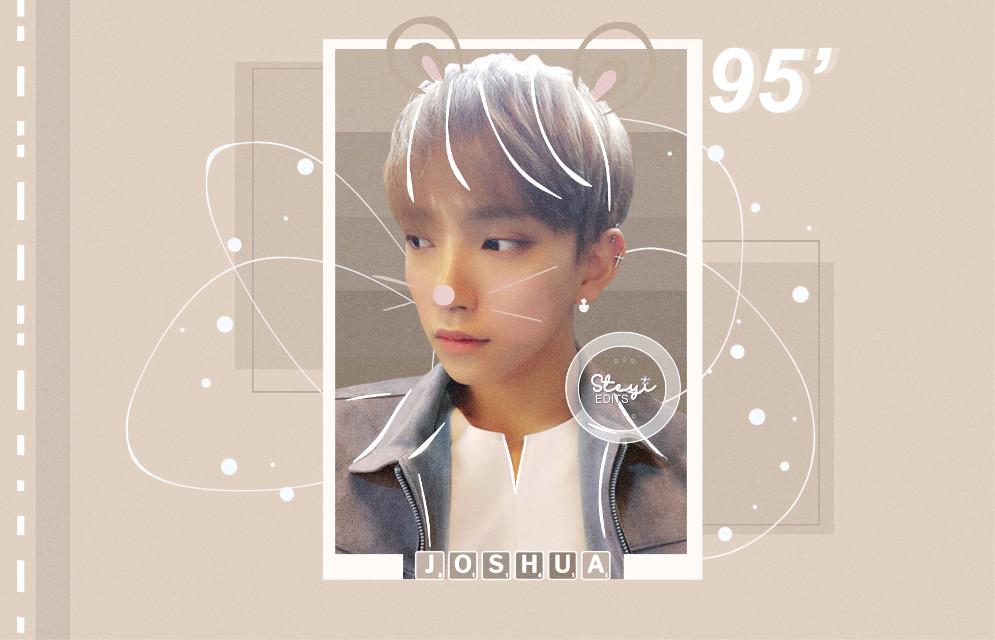 - 🐻✨ Joshua for @fukochan121102 ~ I hope you like it! :)  EPIC EPIC FAIL on the apostrophre 😭😭 I'm so upset  #kpopedits #edits #kpopedit #edit #kpop #seventeenedit #seventeenjoshua #seventeen #hongjisoo #joshua