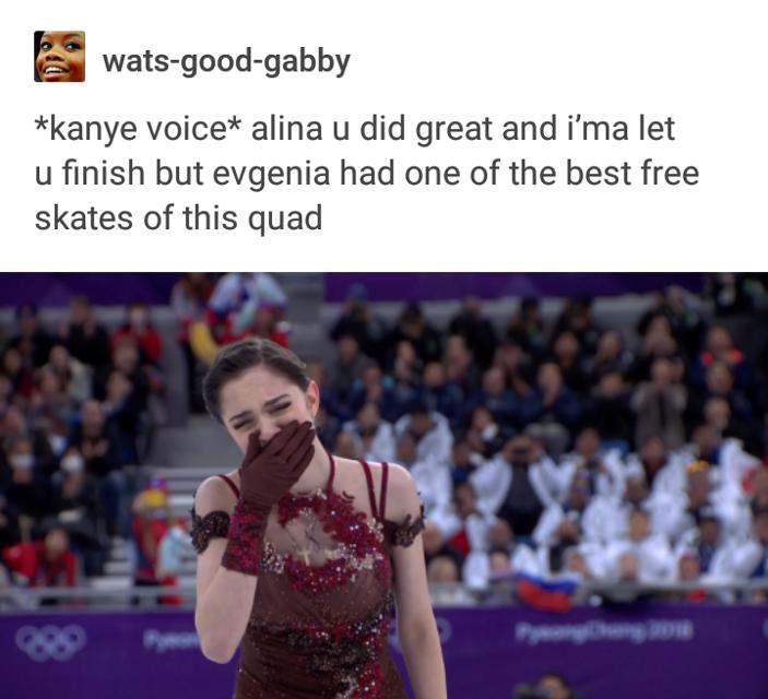 Congrats to the Russian team on dominating the podium in ladies figure skating #Evgenia #Medvedeva #Alina #Zagitova #TeamRussia #Olympic2018 #Pyeongchang #TutberidzeTeam #FigureSkating