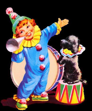 Картинки анимация клоун с собачкой, грусти для