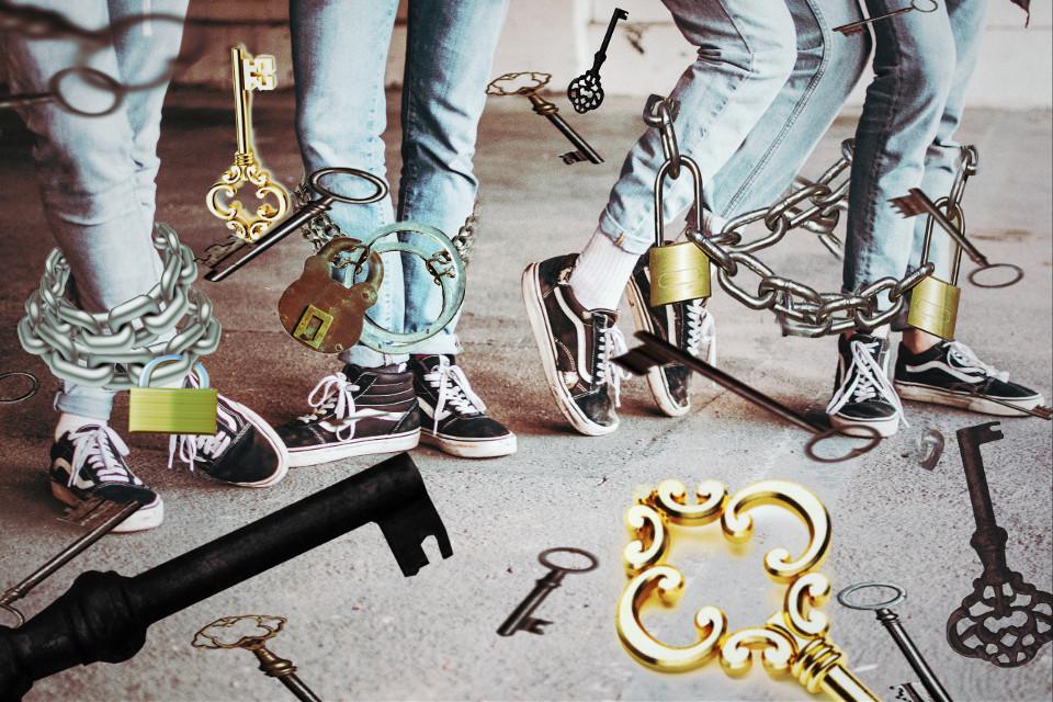 #freetoedit #dailyremix #keys #whatif #chains #lock #lomo2 #bluejeansremix