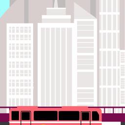 freetoedit flatdesign cityscape