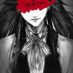 kuroshitsuji grellsutcliff shinigami death blackbutler