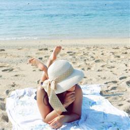 interesting beach sunny summer art freetoedit