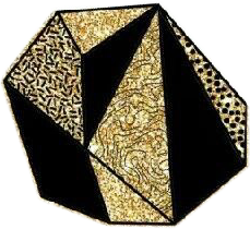 rock gold golden shape like freetoedit