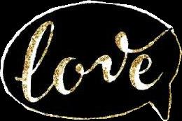 love black gold golden shoutout freetoedit