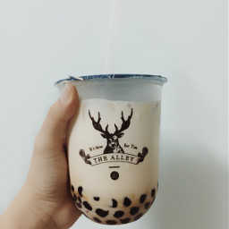 interesting yummy milktea freetoedit thealley