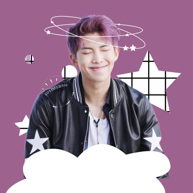 #freetoedit #namjoon  #kimnamjoon #star #rm #purple #bts #beyondthescene #bangtanboys