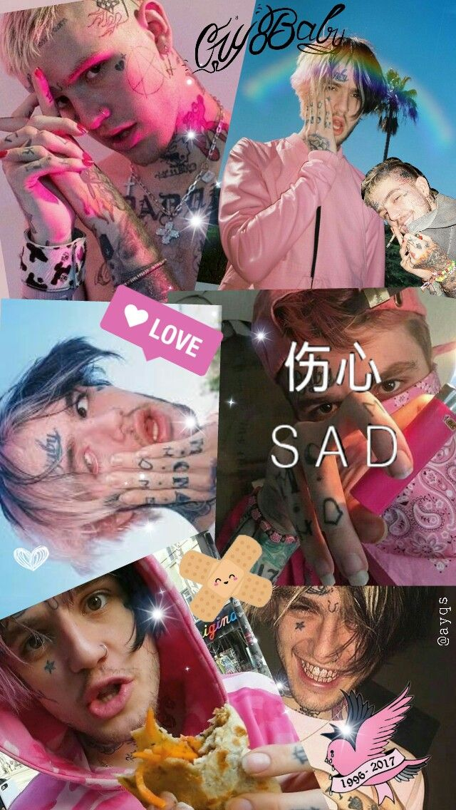 Wallpaper Lilpeep Background Love Aesthetic Tumblr Cryb