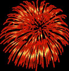 ftestickers firework light entertainment show