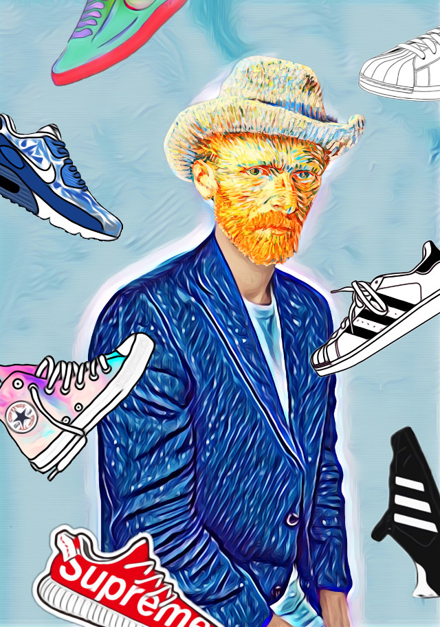 #freetoedit  #vangogh #supreme #nike #adidas #boots #magiceffect #capitalcities #fun #awesome #madewithpicsart