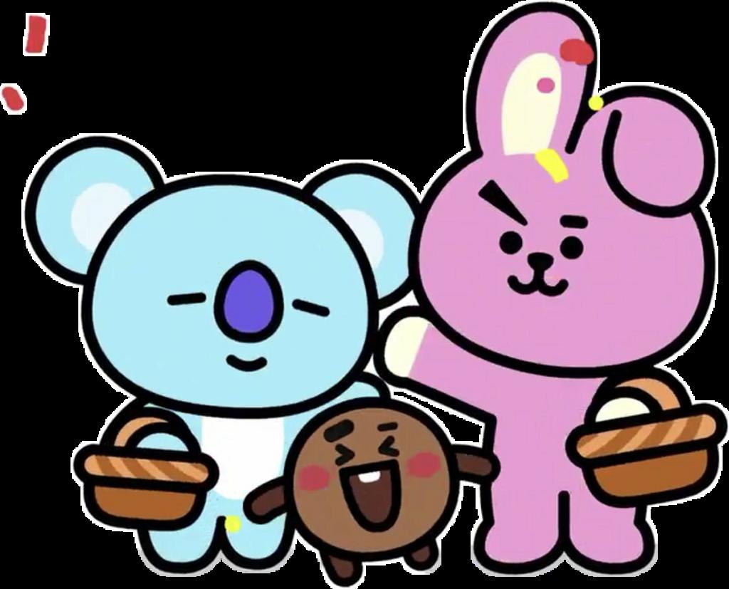 Shooky Cooky Koya Bts Bt21 Sticker By Aesthetic