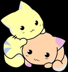 kawaii cute kittens cats babycat freetoedit