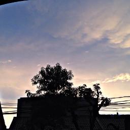 muslimahsejati muslimahijrah sunset tree sky freetoedit