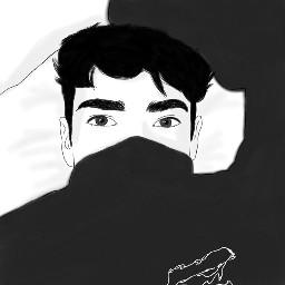 freetoedit boy tumblr👽 tumblrstyle blackandwhite