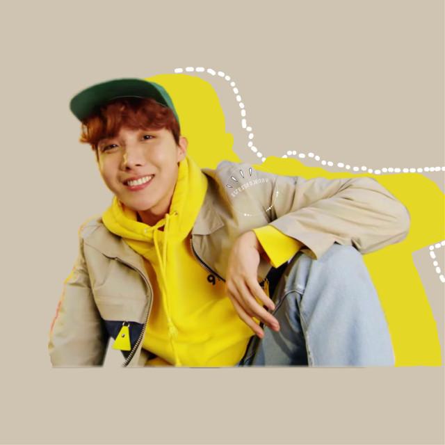 #freetoedit #junghoseok #daydream #yellow #bts #jhope #hopeworld