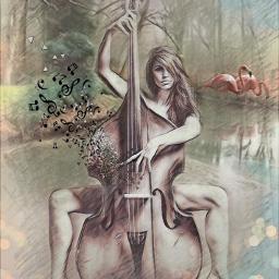 despersion doubleexpesure womanportrait music myartwork