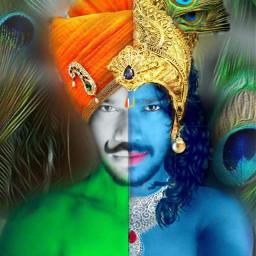 bhagtsingh krishna indian_style indiangod freetoedit