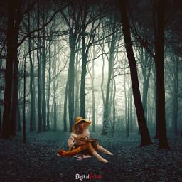 imagination_infocus myedition surreal night dark scary freetoedit