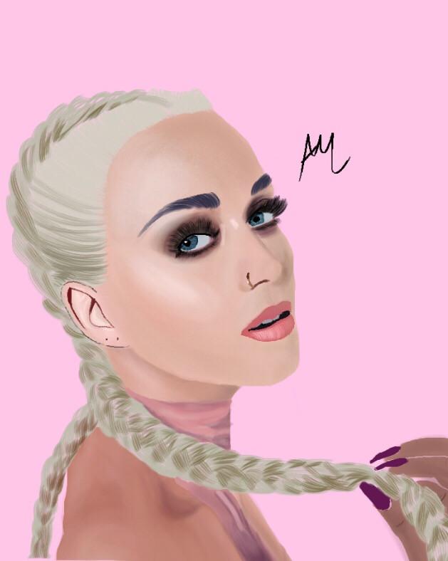 Katy Perry  Instagram: @/artsyali4 #katyperry #digitalart