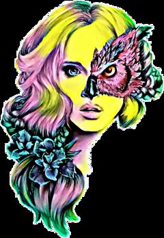 scowls owls freetoedit