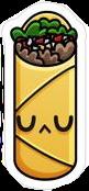 burrito snack food interesting art freetoedit