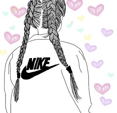 Freetoedit Nike Dutchbraids Image By Karishma