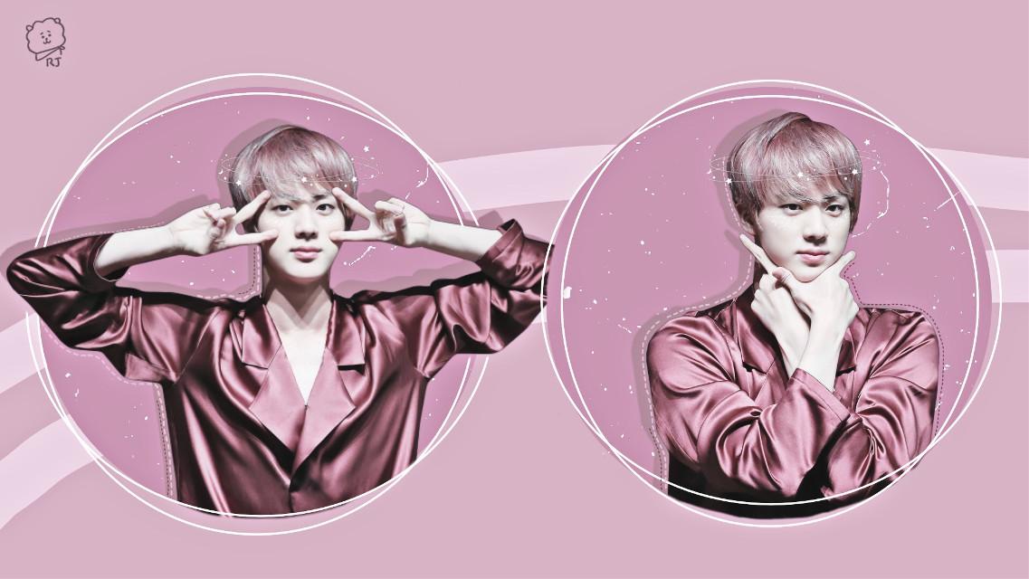 #bts #seokjin #pink #kpop #army #jin #btsjin 💓