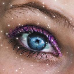 ecgodsandgalaxies godsandgalaxies freetoedit galaxy eye