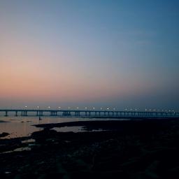 freetoedit bridge dusk photography