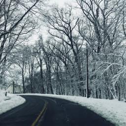 snow morningroutine road pcwindingroads pcroads