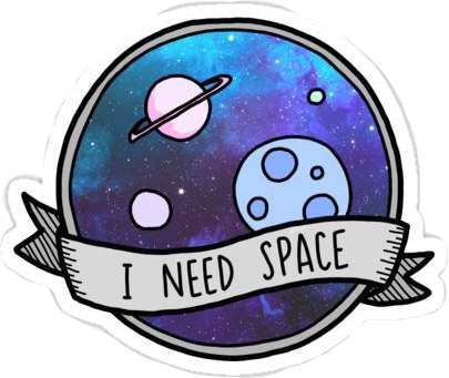 Space Galaxy Sticker Stickers Tumblr Spacetumblr Tumblr