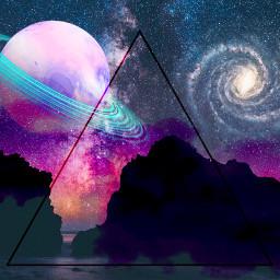 freetoedit remix remixit galaxy space