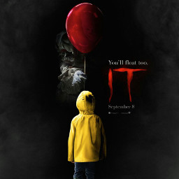 it to pennywise georgiedenbrough redballoon freetoedit