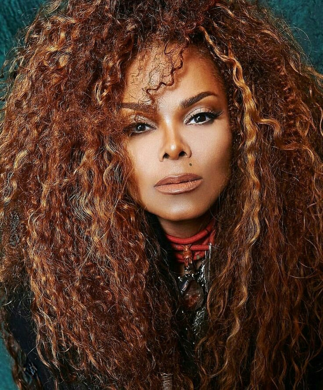 my sister Janet Jackson my twin